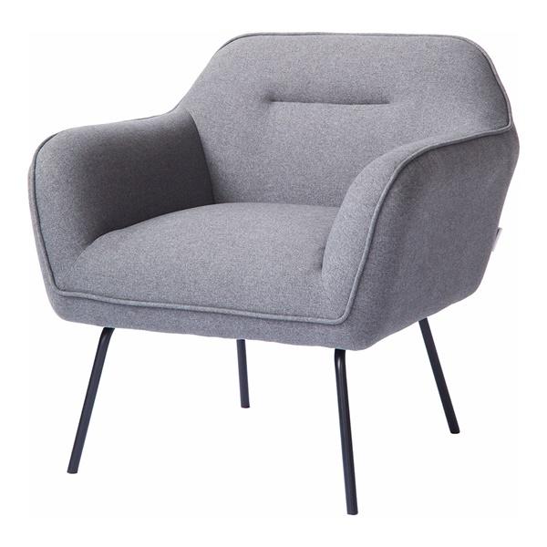 Runa Lounge Chair (Light Gray)
