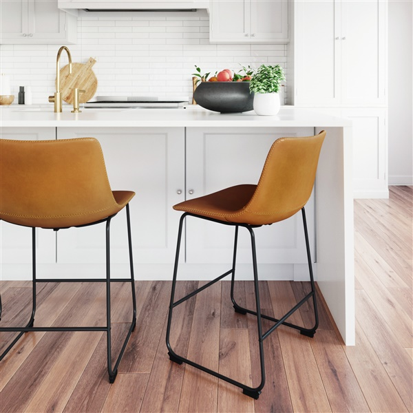 Kent Counter Stool (Light Brown)