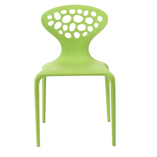 Lily Stacking Chair - White