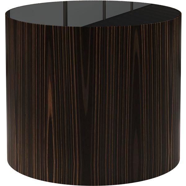 Berkeley Side Table (Cathedral Ebony / Black Glass)