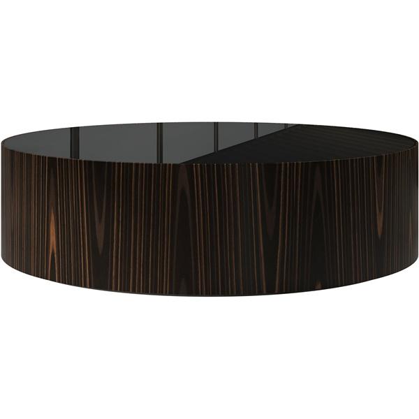 Berkeley Coffee Table (Cathedral Ebony / Black Glass)