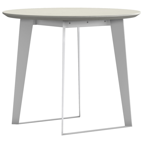Amsterdam Round Cafe Table (Gray)