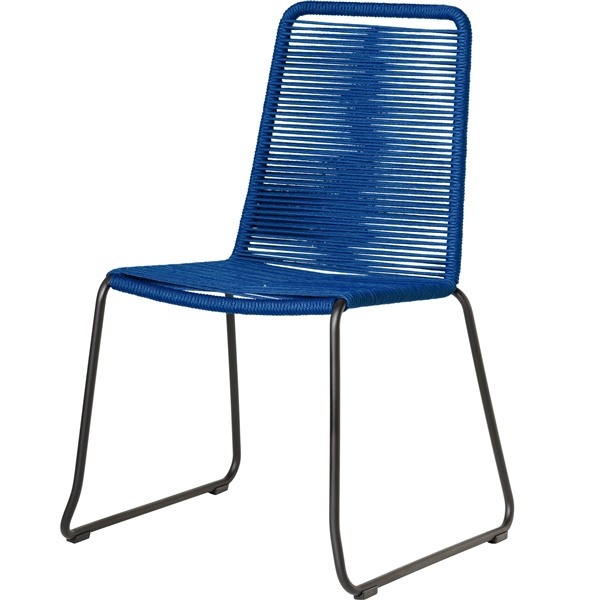 Barclay Dining Chair (Blue Cord)