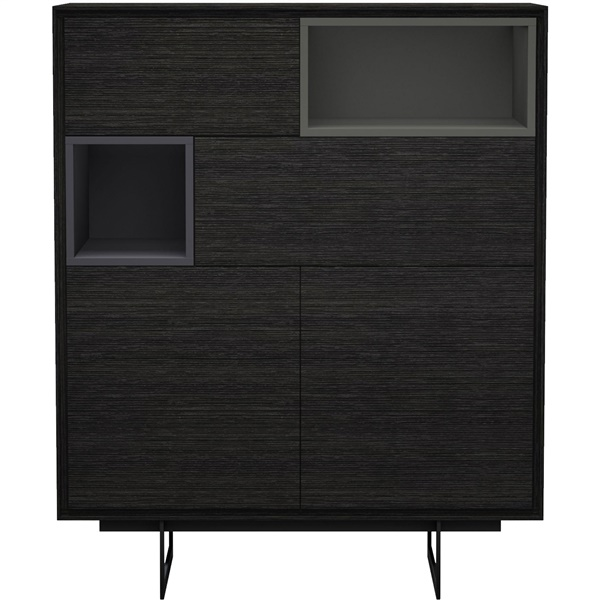 Baxter Highboard (Gray Oak)
