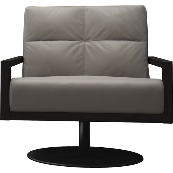 Clarkson Lounge Chair (Opala/Black Oak)