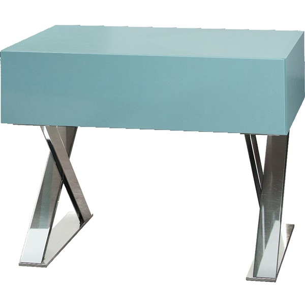 Cleveland Nightstand (Nile Blue Matte)