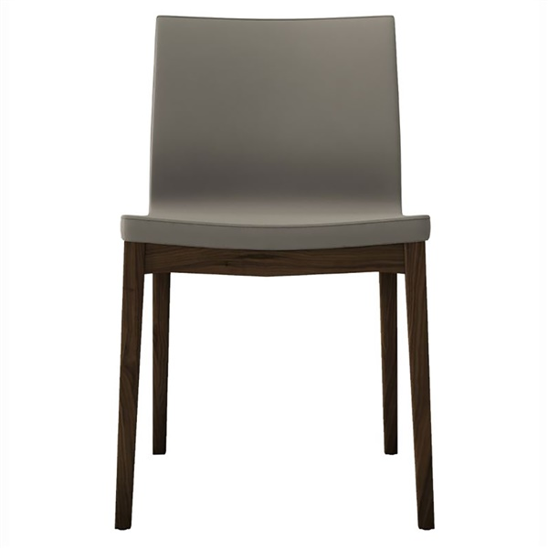Enna Dining Chair (Dove Gray/Natural Oak)
