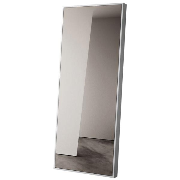 Greene Mirror (White Lacquer)