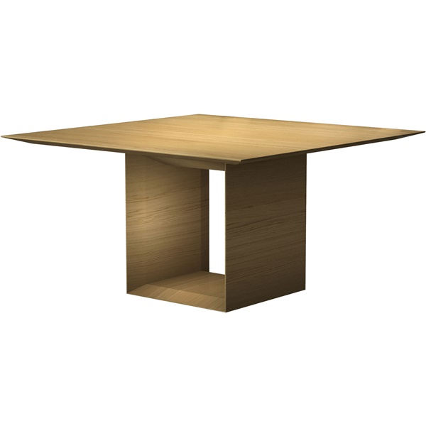 Greenwich Square Dining Table (Natural Oak)