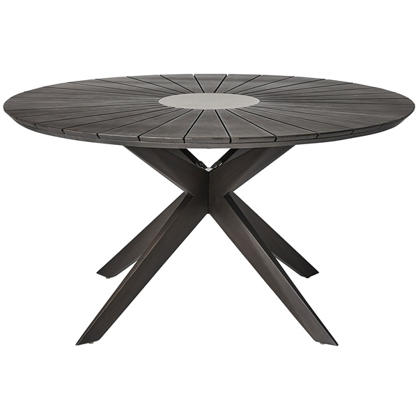 Helios Dining Table (Dark Eucalyptus)