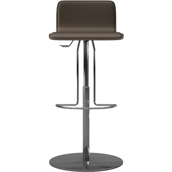 Prato Adjustable Bar Stool (Reclaimed Dove Gray)