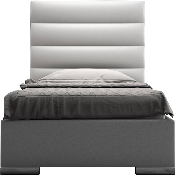 Prince Bed (Twin / Castle Gray)