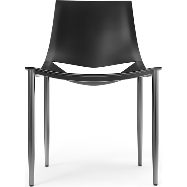 Sloane Dining Chair (Black / Chrome)
