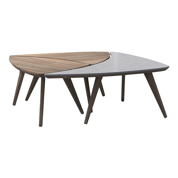 Triplica Bunching Tables (Dark Eucalyptus)