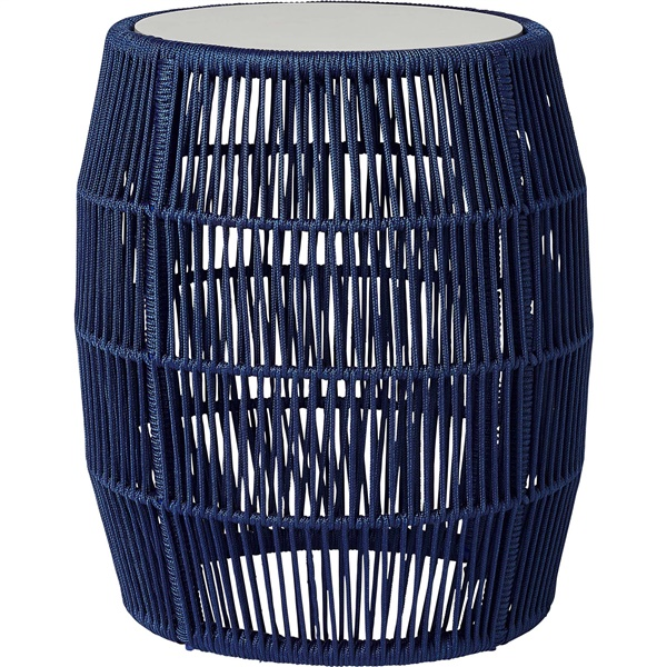 Volta Accent Table (Blue Cord)