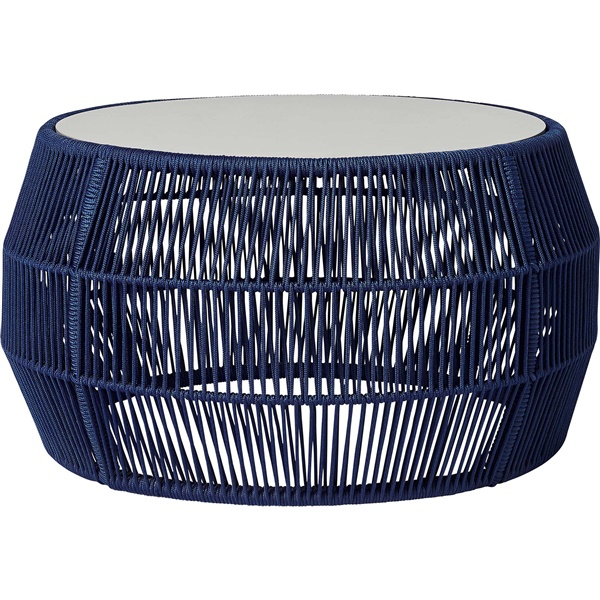 Volta Cocktail Table (Blue Cord)