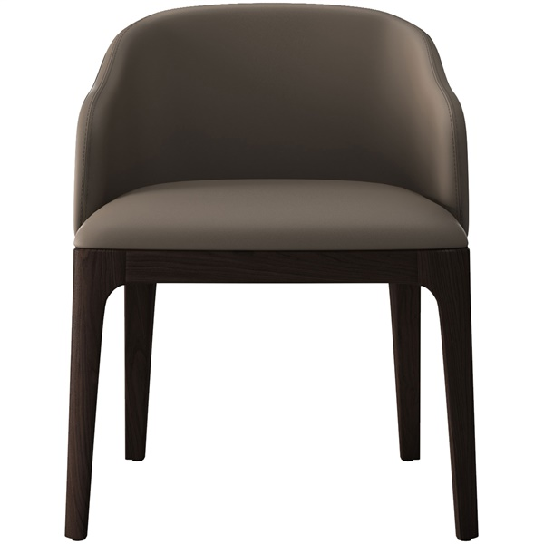 Wooster Dining Arm Chair (Castle Gray)