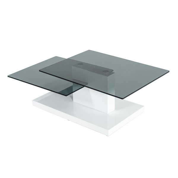 Modrest Dove - Contemporary High Gloss Coffee Table