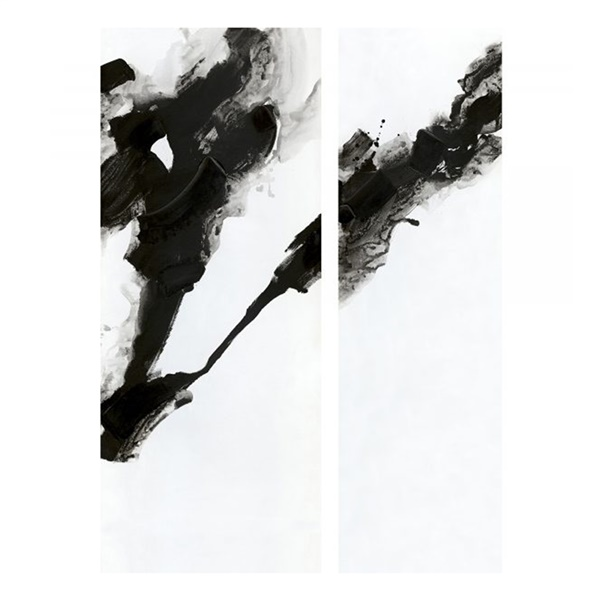 2-Piece Rorschach Wall Decor