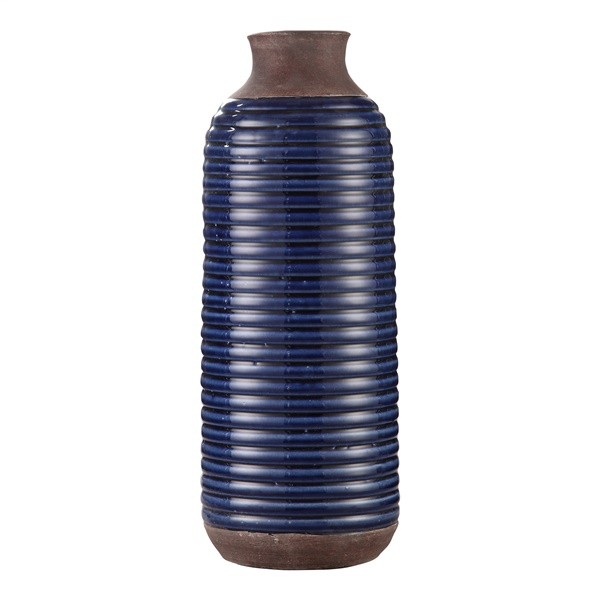 Alexandria Tall Vase - Blue