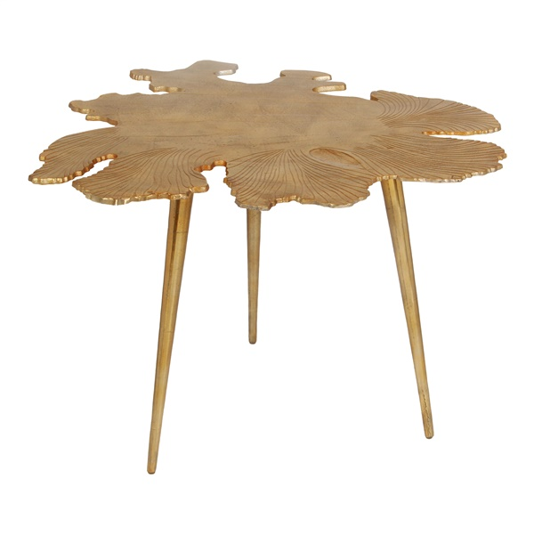 Amoeba Side Table, Gold