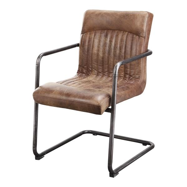 Ansel Arm Chair - Light Brown