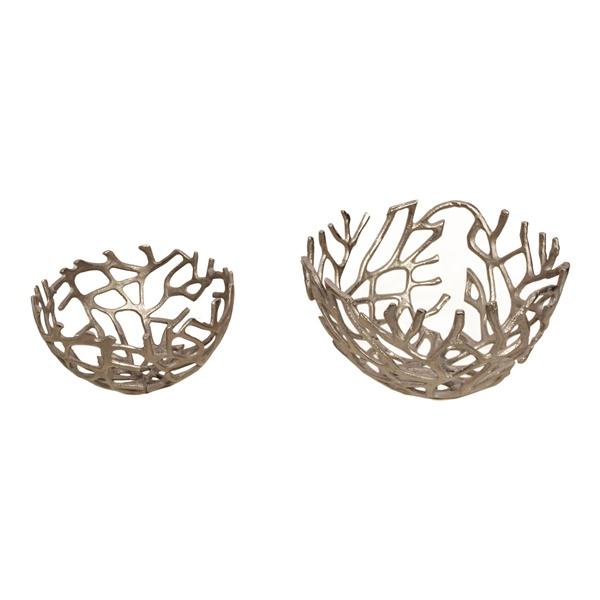 Branch Bowl - Silver