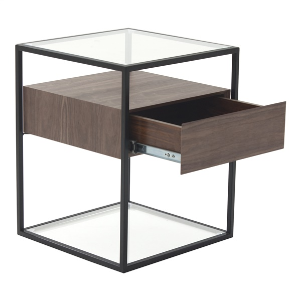 Claro Walnut Side Table