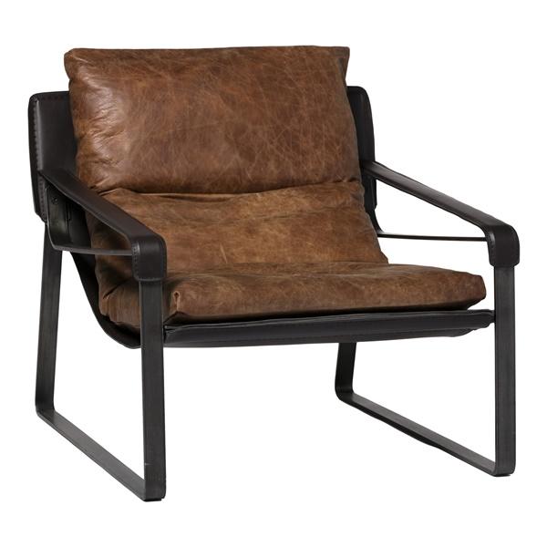 Connor Club Chair - Brown