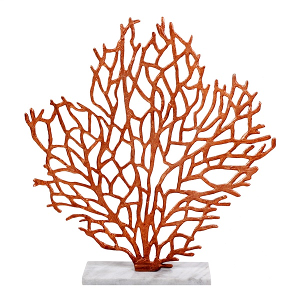 Foliage Table Sculpture, Bronze