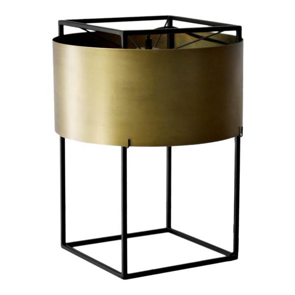 Franco Table Lamp, Gold