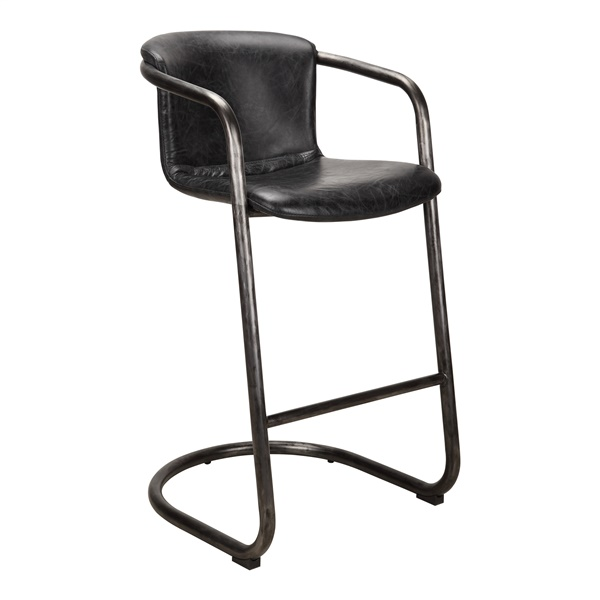 Freeman Bar Stool - Antique Black