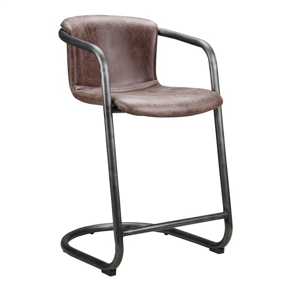 Freeman Light Brown Counter Stool