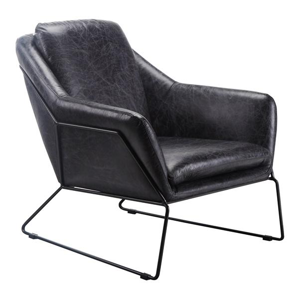 Greer Club Chair - Black
