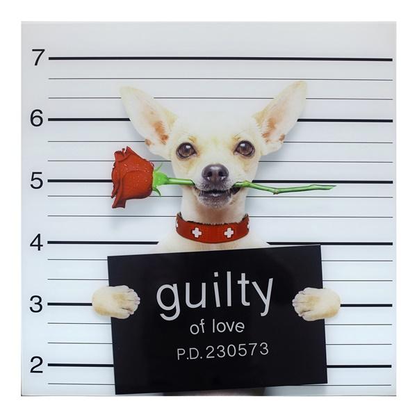 Guilty Chihuahua Wall Decor