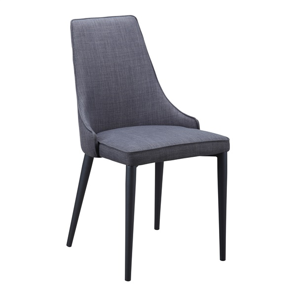 Hazel Dining Chair - Dark Gray