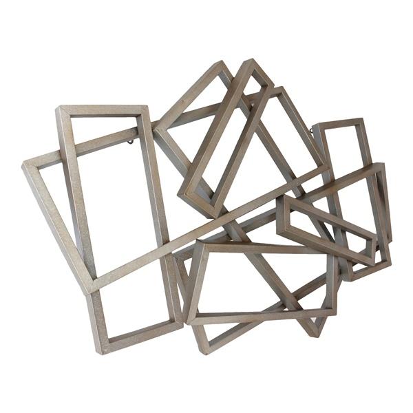 Metal Rectangular Wall Decor
