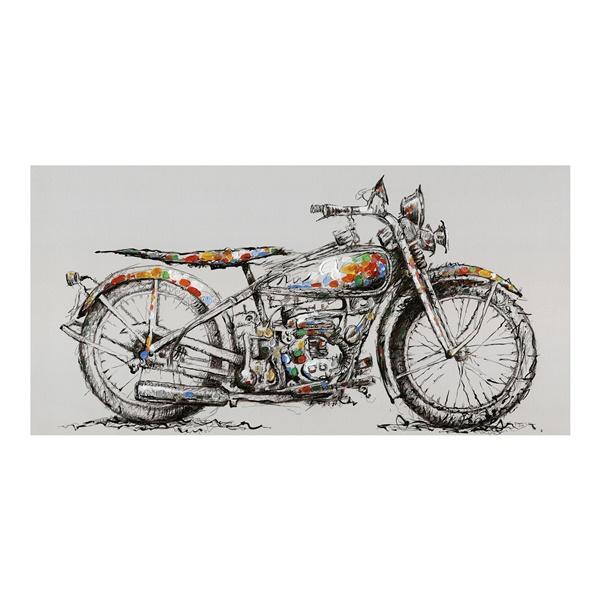 Motorbike Wall Decor