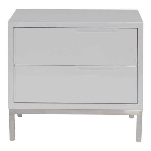 Naples Side Table - Gray