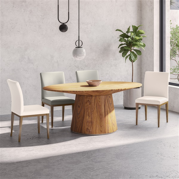 Otago Oval Dining Table (Walnut)