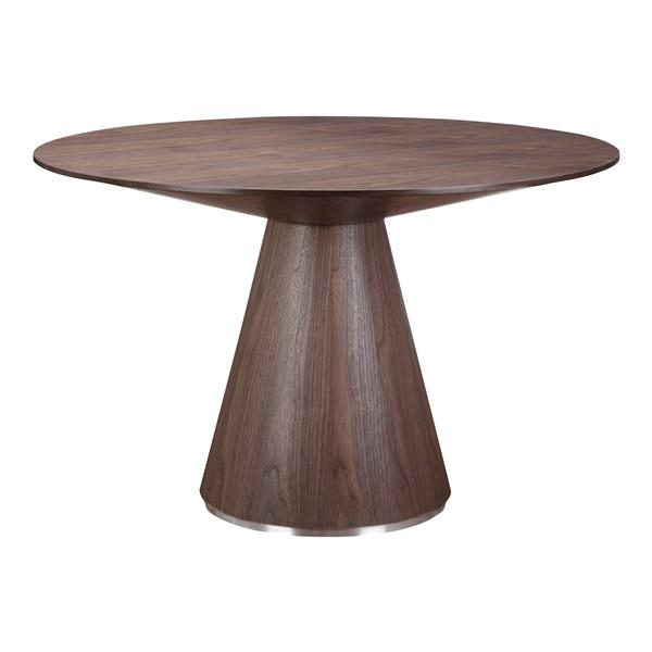 Otago Round Dining Table (Walnut)