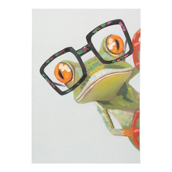 Peeking Frog Wall Decor
