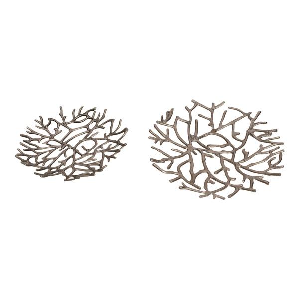 Twig Platter - Silver