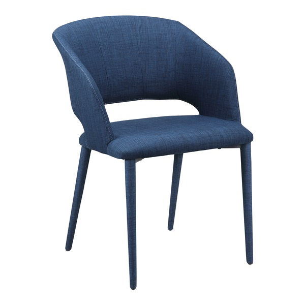 William Dining Chair - Navy Blue