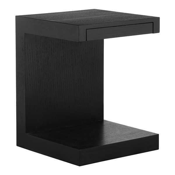 Zio Side Table (Black Oak)
