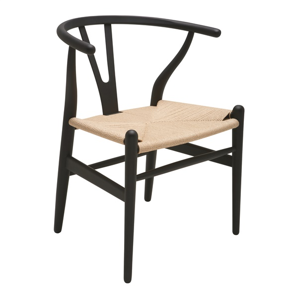 Alban Dining Chair (Black)