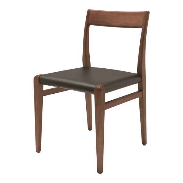 Ameri Dining Chair (Black/Cross Brace)