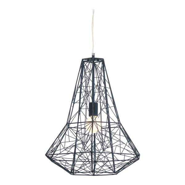 Apollo Pendant Lamp (Black / Small)