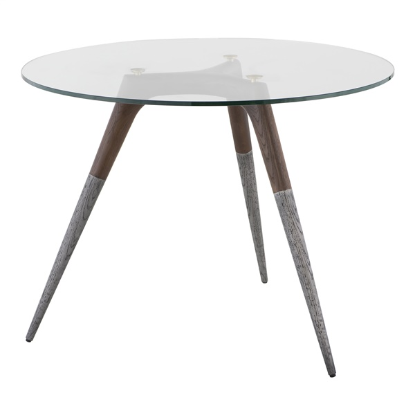 Assembly Bistro Table (Smoked Oak)