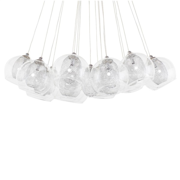Aura Pendant Lamp (Chrome)